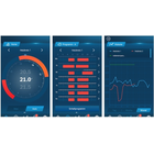 Drei Screenshots der App EasyControl