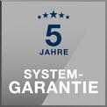Siegel 5 Jahre Systemgarantie